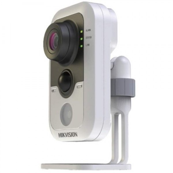 Wi-Fi видеокамера HikVision DS-2CD2432F-IW с микрофоном 3 МП, 2,8 мм, PIR-датчик, ИК-10 м, 25 кадр/с, 0.07 Лк, SD до 64 Гб